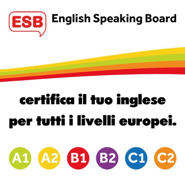 ESB - Certificazione in Inglese